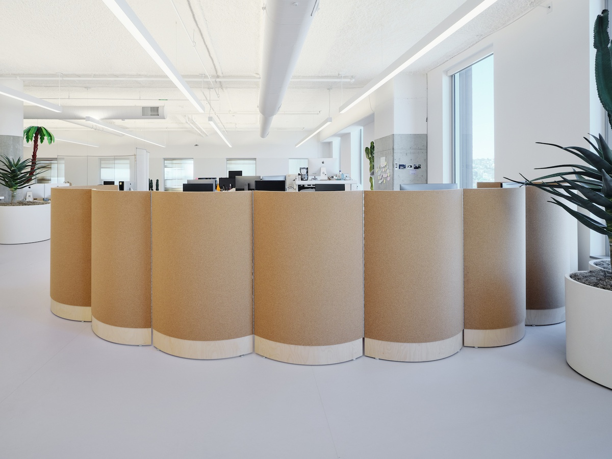 Plywood and Cork Screens